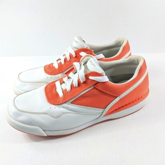 Rockport Other - Rockport Men's Casual Orange Sneakers Size 13